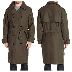 FOG by London Fog Double-Breasted Trench Coat 40